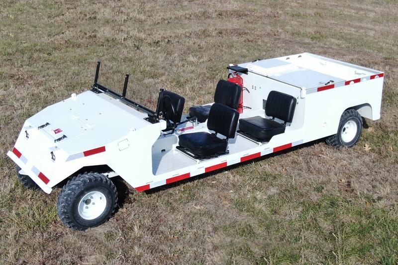 PC-13 4 Man Diesel Cart